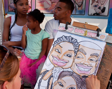 Kids Tampa: Caricature Artists - Fun 4 Tampa Kids
