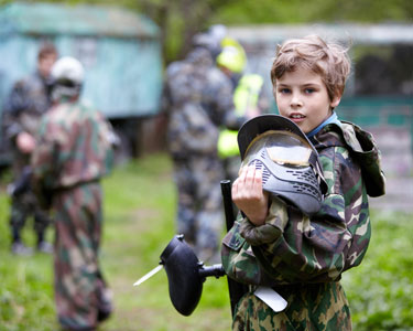 Kids Tampa: Laser Tag and Paintball  - Fun 4 Tampa Kids