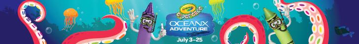 Crayola Experience Orlando - Ocean X