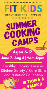 Fit Kids Cooking Summer Camp
