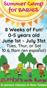 Zumbini Summer Camp for Babies