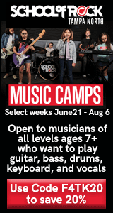 School of Rock Tampa North Summer Camp
