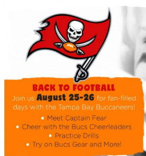back to football with the bucs at glazer children s museum fun 4