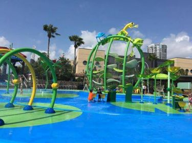 Florida Aquarium Splash Pad