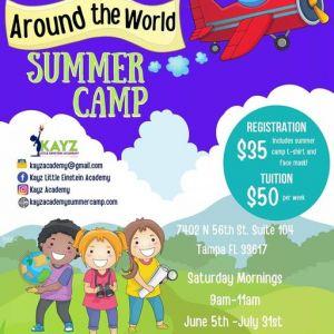 Kay Academy Summer Camp: Around the World