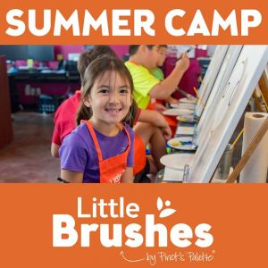Pinot's Palette Little Brushes Summer Camp