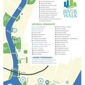 Historical Monument Trail at Riverwalk