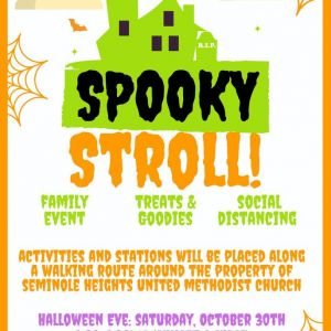10/30 Spooky Stroll at TRIBE Seminole Heights