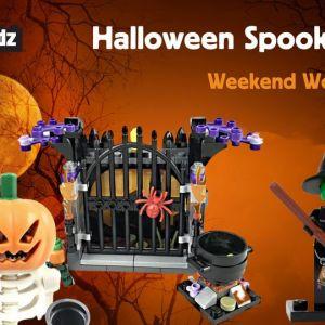 10/30 Halloween Spooktacular Weekend Workshop at Bricks 4 Kidz