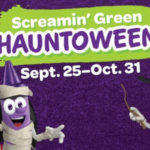 Screamin Green Hauntoween at Crayola Experience Orlando