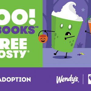 09/01-10/31 Frosty® Boo! Books at Wendy's
