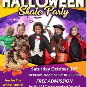 10/30 Kids Skate Free at United Skates of America