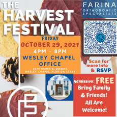 10/29 Harvest Festival at Farina Orthodontic Specialists