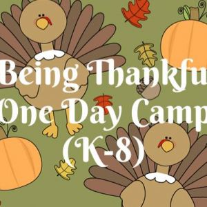 Girls With Confidence Thanksgiving Camps