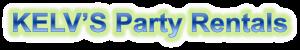 Kelv's Party Rentals