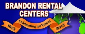 Brandon Rental Centers - Tent and Tableware Rentals