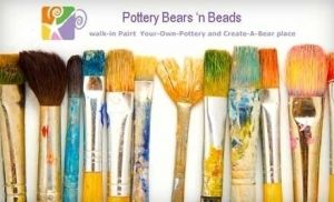 Pottery Bears 'n Beads Themed Party