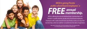 MOSI Free Educator Memberships