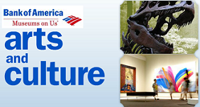 "Free Museum Days From BOA with ""Museums on Us"""