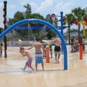 Water Play at Zephyr Park