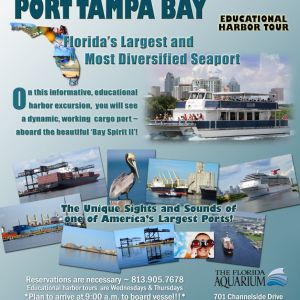 Port Tampa Bay Harbor Tours