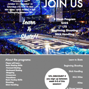 Xtra Ice Learn To Skate Program