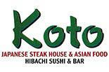 Koto Japanese Steak House