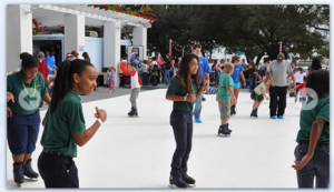 11/24-1/1 Santa & Ice Skating in North Straub Park