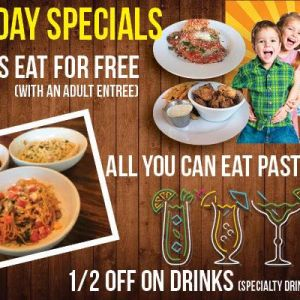 Mothers FL Kids Eat Free