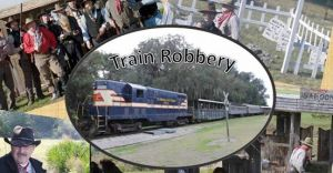 Florida Railroad Museum Wild West Style Train Robbery