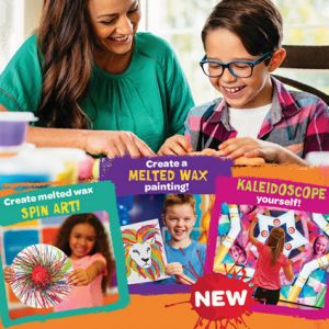 September and October are Homeschool months at Crayola Experience