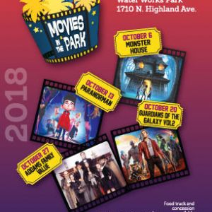10/06-10/27 Movies in the Park at Water Works Park