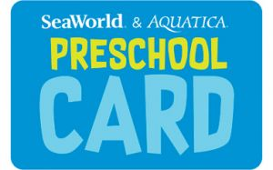 Seaworld and Aquatica Orlando Preschool Card Free