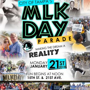 01/26 City of Tampa's MLK Day Parade