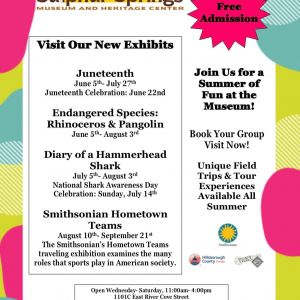 Summer of Fun at Sulphur Springs Museum and Heritage Center