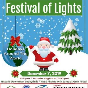 12/07 Zephryhills Festival of Lights and Christmas Parade