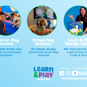 Learn and Play Tampa Bay Virtual Play Sessions