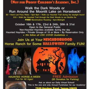 Haunted Horse-A-Ween Spectacular