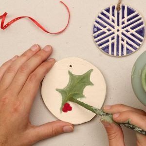 11/19 & 12/3 Firehouse Cultural Center - Holiday Ornaments