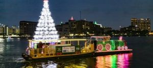 12/19 Holiday Lighted Boat Parade with Pirate Water Taxi