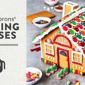 11/26-12/19 Gingerbread Houses - Publix Aprons Cooking School